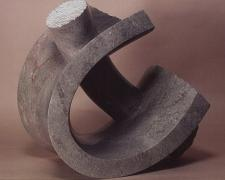Through Out, 1989, Tennessee marble, 14 x 13 1/2 x 11""