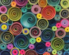 Quills 2013 quilled paper 6 1/2 x 4 1/2 x 1/2""