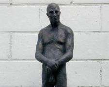 """Observador I, 1999, bronze, 28 1/3 x 7 1/10 x 6 7/10"""""""