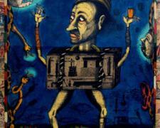 Heartbreaker, 2008, watercolor, graphite, ink, collage, i.s. 18 3/4 x 12 1/2