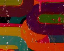 "Candy Girl 7, 2007, acrylic on board, 7 1/4 x 5 1/2"""