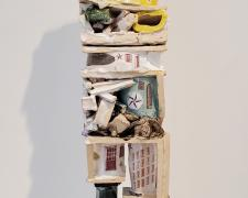 """Clara Hoag, Sailor, 2021, ceramic, 25 3/4 x 5 x 4"""""""