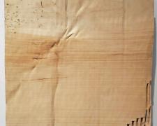"Christian Renonciat, ""Cardboard GO n°5"", 2017, Ayous wood, 20 x 20"""