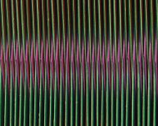 "Chromatic Resonance #9, 2016, paper, i.s. 2 1/2 x 5 1/2 x 1/2""/Framed  11 x 14 x 1 1/2"""