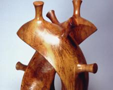 """Memory of Horn, 2004, Texas pecan, 27 1/2 x 17 x 11 1/2"""""""