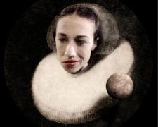 "Prince Varughese Thomas, Portrait of Miranda Sings, 2021, pigment print, 13 x 13"", A/P"