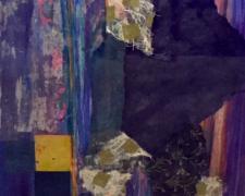 "Untitled 33, 2015, mixed media on paper, i.s. 30 x 22"" / f.s. 36 5/8 x 29 1/8"""