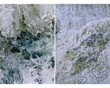 "Iridescence, 2014, archival inkjet print, ed. 1/7, 22 x 44"""