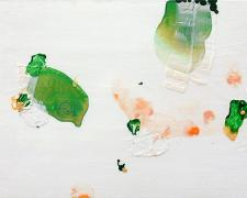 "pialo, 2004, acrylic on canvas, 12 x 16"""