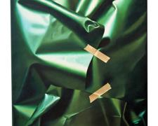 The Structure and Spectrum of Green, 2011, oil on canvas, 21 x 17""