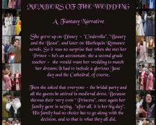 Members of the Wedding - A Fantasy Narrative, 2007, archival lightjet prints, 24 x 18""