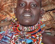 """Massai Woman #3, 2009, archival inkjet print, 12 x 15"""""""