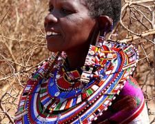 """Massai Woman #6, 2009, archival inkjet print, 12 x 15"""""""