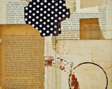 """system of government, 2013, mixed media collage, f.s. 21 1/2 x 17"""" / i.s. 13 1/4 x 10"""""""