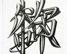 Fear & Desire, 2011, graphite on paper, 9 x 7 1/4""