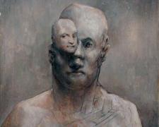 "Seeing Rubens, 2008-09, acrylic on paper, i.s. 8 x 8"""