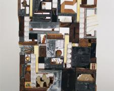 """A Letter to the Palace, 2009, assemblage, 25 x 22 x 7"""""""