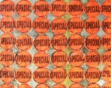 "Special 2005 Mixed media 10 x 10"""