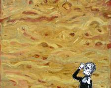 """Stinkbomben 2005 Oil on canvas 10 x 10"""""""