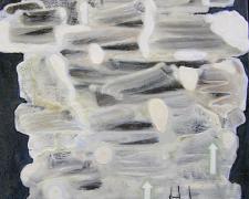 "Tempest 2005 Oil on canvas 10 x 10"""