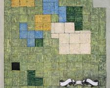 """Triv and Quad 2004 Oil on Canvas 30 x 28"""""""