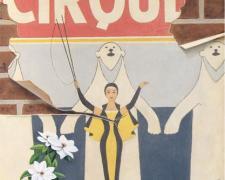 "Cirque Clematis, 2007, oil on canvas, 20 x 16"""