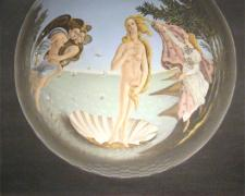 Ecco Botticelli 2007 oil on canvas 30 x 24""
