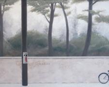 """Fifer, 2007, oil on canvas, 24 x 36"""""""