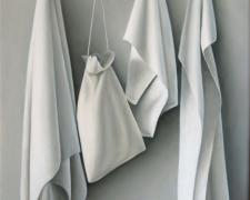 """Hat Rack, 2008, oil on canvas, 24 x 20"""""""