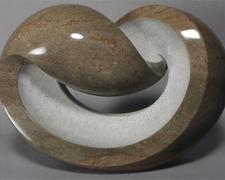 The Wave Of Love, 2006, Tennessee marble, 11 1/4 x 16 1/2 x 6 1/2""