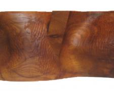 """The Great Divide (The Rocky Mountain), 2009, osage orange (bold d'arc), 26 1/2 x 11 1/2 x 9"""""""