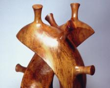 """Memory of Horn 2004 Texas Pecan 27 1/2 x 17 x 11 1/2"""""""