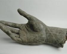 "Mano Grande 2006 bronze, ed. 2/8 39 x 14 x 14"""