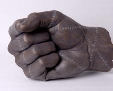 """Mano Puno, 2009, bronze, ed. 3/8, 23 3/5 x 15 7/10 x 13 2/5"""""""
