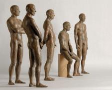 Personajes I-V 2007 bronze, eds. 1/8