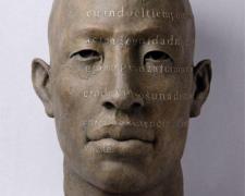 """Rostro Grande 2007 bronze, ed. 1/8 30 x 20.5 x 16.5"""""""