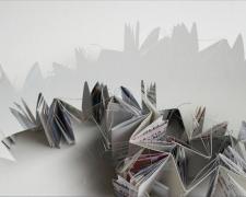 """urban study II, 2012, archival pigment print on Somerset, f.s. 11 x 14"""" / i.s. 6 x 8"""""""