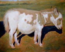 "Balaam, 2006, acrylic on paper, i.s. 10 x 13"""