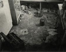 After, 2005, charcoal on paper, i.s. 24 x 32 1/2""