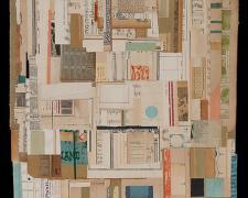 "Rites Of Passage, 2013, paper, acrylic, graphite, f.s. 37 1/2 x 29"" / i.s. 31 x 23"""