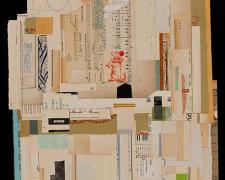 """Practice, 2013, paper, acrylic, graphite, f.s. 29 x 23"""" / i.s. 22 x 17"""""""