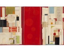 "Sonnet in the Neighborhood, 2011, mixed media, 18 1/4 x 25 1/4"""