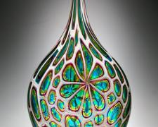Resistenza, 2012, blown glass, murine, 26 x 10 1/2 x 3""