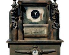 """Book of the Dead, 2002, mixed media, 33 x 22 x 10"""""""