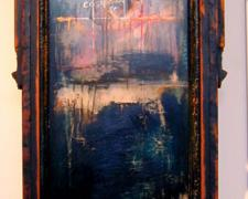 """Parable of Water on Flesh, 2004, mixed media, 55 x 18 x 9"""""""