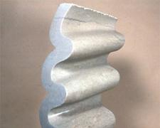 Spring Haze 1993 Tennessee Marble 13 1/2 x 8 3/4 x 6""