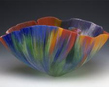 Appagamento, 2002, filet-de-verre, 11 1/4 x 21 x 13""