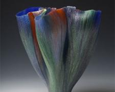 Incontro, 2009, filet-de-verre, 15 1/2 x 15 7/8 x 13 3/8""