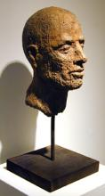 "Cabeza VII 2000 Bronze 19 x 8 x 8"""