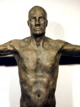 "Balance II (detail) 1999 Bronze, ed. 8/8 29 x 28 1/8 x 8"""